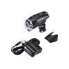 Busch + Müller IXON IQ Premium - Luces para bicicleta - incluye baterías y cargador negro